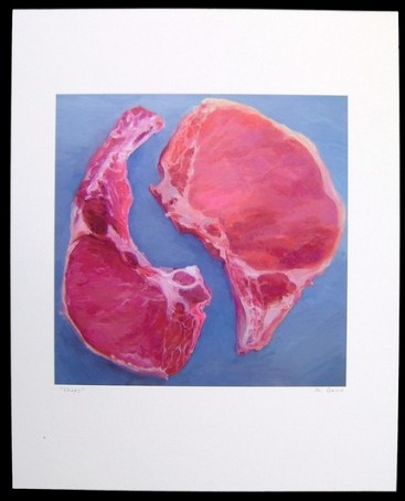 meat painting