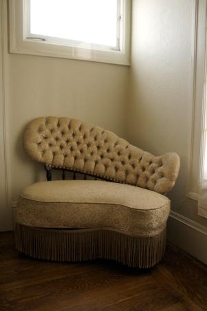 our asymmetical chaise