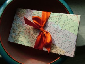map envelope