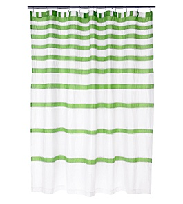 verdant shower curtain