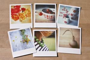 poloroid postcards