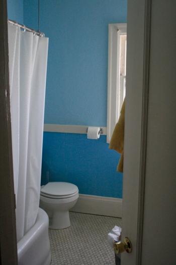 bathroom enter