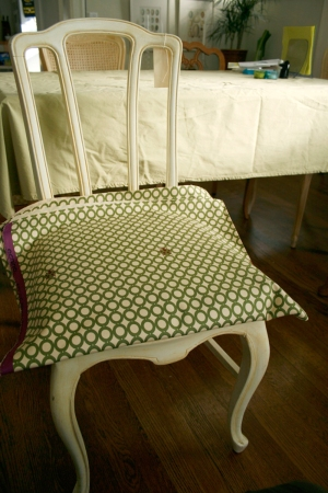new chair fabric